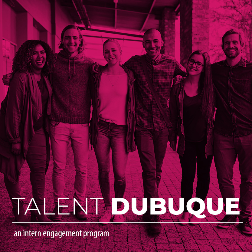 Event Promo Photo For Talent Dubuque: An Intern Engagement Program