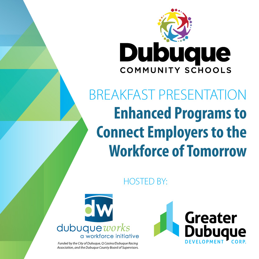 Event Promo Photo For Breakfast Presentation: Enhanced Programs to Connect Employers to the Workforce of Tomorrow
